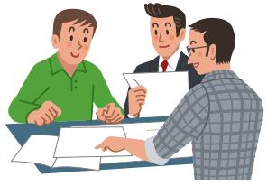 事業絵計画書の作成(建築プランの選定)